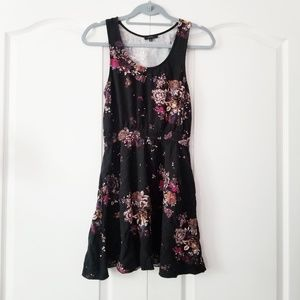 Aritzia Floral Roppongi Dress with Pockets